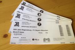DFB-Pokal 1. Runde: Jahn Regensburg - FCB